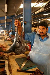 Fish souq in Deira