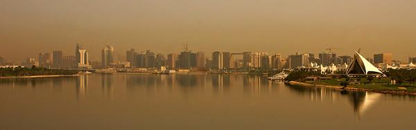 Once more, the Dubai Creek Golf & Yacht Club