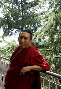A Tibetan monk