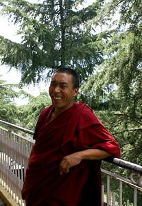 A Tibetan monk - very friendly people