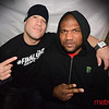 "Former Light Heavyweight Tito Ortiz (L) with fellow MMA fighter & ""A-Team"" star Quinton ""Rampage"" Jackson (R) in Myth Taverna"
