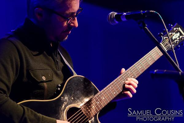 Jose Ayerve performing at a fundraiser for Shenna Bellows' 2014 senate campaign