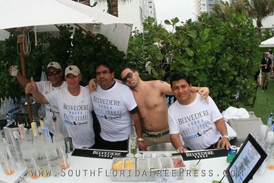 Belvedere Vodka - Belvedere Music Lounge, WMC - W Hotel, South Beach, Miami, FL