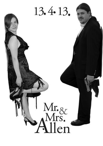 01 Mr & Mrs Allen