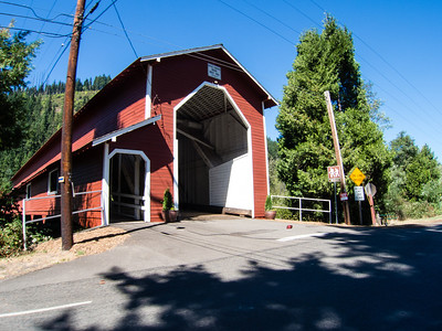 The Office Covered Bridge in Westfir OR.
