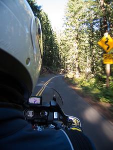 Old McKenzie Hwy is a fantastic Motorcycle road.