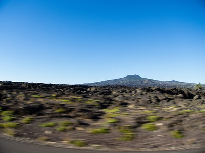 Vast lava flows at the top of McKenzie pass