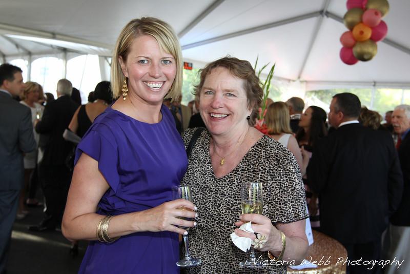 Mary Beth Benedetti and Jane Libarle at the Benedetti Leadership Celebration held on May 3, 2014 at the Petaluma Valley Hospital.