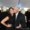 Stacey Badaglia gets a kiss from dad, Charle Terzian at the Benedetti Leadership Celebration held on May 3, 2014 at the Petaluma Valley Hospital.