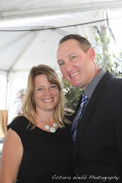 Kara and Lee Reposa the Benedetti Leadership Celebration held on May 3, 2014 at the Petaluma Valley Hospital.