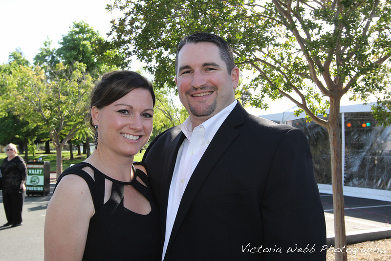 Stephanie and Brian Breen at the Benedetti Leadership Celebration held on May 3, 2014 at the Petaluma Valley Hospital.