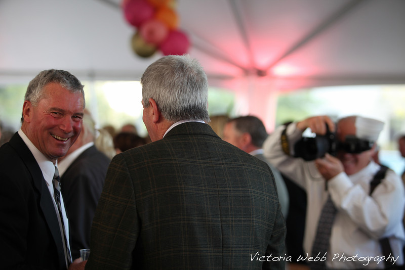 Guests smile for the camera at the Benedetti Leadership Celebration held on May 3, 2014 at the Petaluma Valley Hospital.
