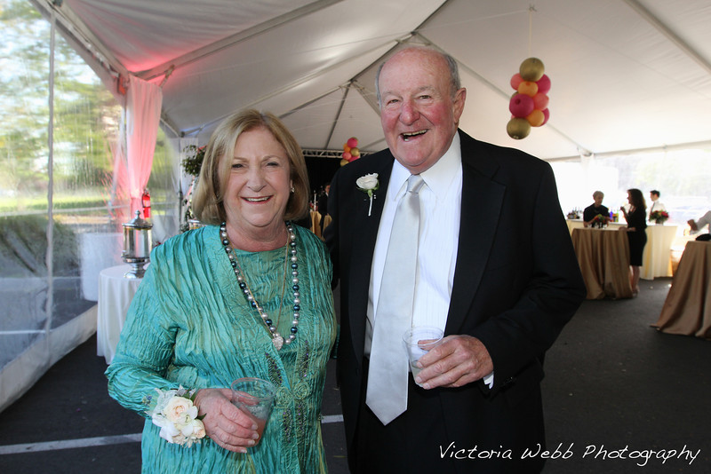 Carol and Dan Libarle at the Benedetti Leadership Celebration held on May 3, 2014 at the Petaluma Valley Hospital.
