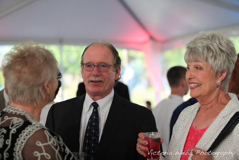 Rick Susick and  Patsy Terzian the Benedetti Leadership Celebration held on May 3, 2014 at the Petaluma Valley Hospital.