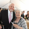 Ron Badaglia and mother, Elaine Caldwell at the Benedetti Leadership Celebration held on May 3, 2014 at the Petaluma Valley Hospital.
