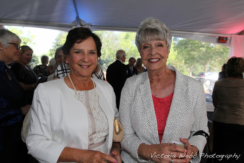 Lucy Ronan and Patsy Terzian at the Benedetti Leadership Celebration held on May 3, 2014 at the Petaluma Valley Hospital.