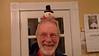 Ernie wearing a snowman hat!