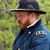 John Guss portrays General Sherman.