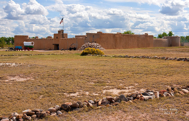 Old Bent Fort Colorado