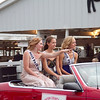 Benton Co. Fair Princess Kristen Lowe (right), 1st runner up Taylor Arens (center) and Aspen Auld.  Molly Wade photo.