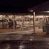 Thursday night at the Benton County Fair ended with a torrential downpour.  Molly Wade photo.