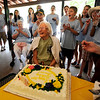 "Berenice Sayre  finishes blowing out the candles on her cake during the celebration.<br /> Berenice Sayre of Boulder turned 100 years-old in February. She celebrated her birthday during a family reunion with over 60 relatives at North Boulder Park.<br /> For more photos and a video of the celebration, go to  <a href=""http://www.dailycamera.com"">http://www.dailycamera.com</a>.<br /> Cliff Grassmick / July 2, 2011"