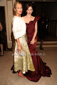 Carolyn Murphy and Coco Rocha  Bergdorf Goodman Celebrates It's 111th Anniversary At The Plaza Departures New York City - USA 10-18-12 photo by Rob Rich/SocietyAllure.com © 2012 robwayne1@aol.com 516-676-3939