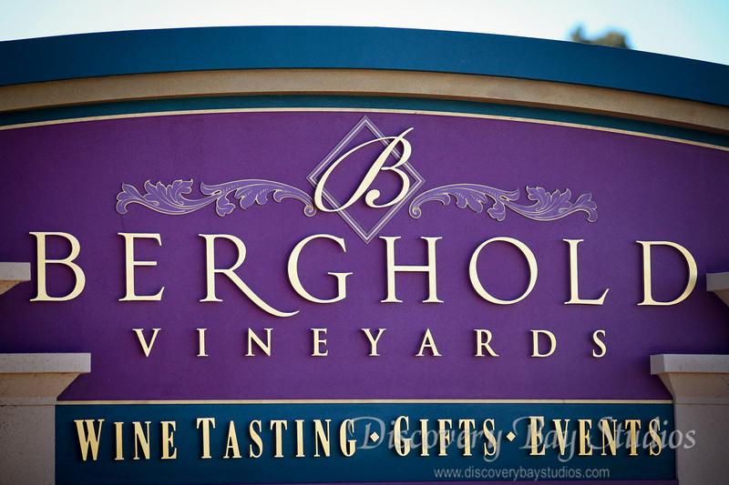 Berghold Winery, Lodi. Wedding venue & reception. Wedding photography