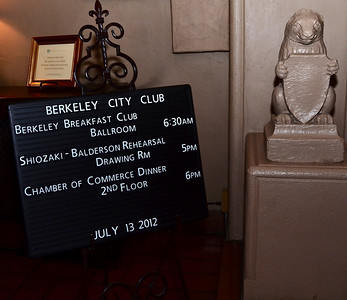 Berkeley Chamber of Commerce Gala, 2012