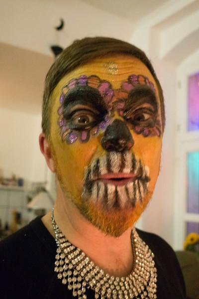 Maeven in Ritual Face