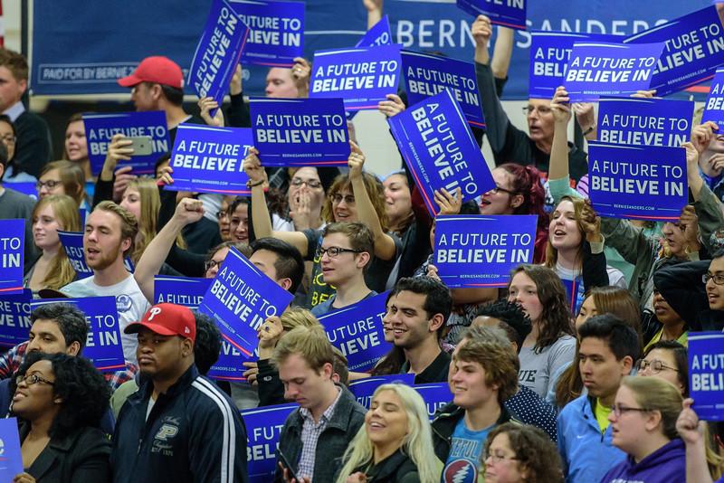 4/27/16 Bernie Sanders Town Hall