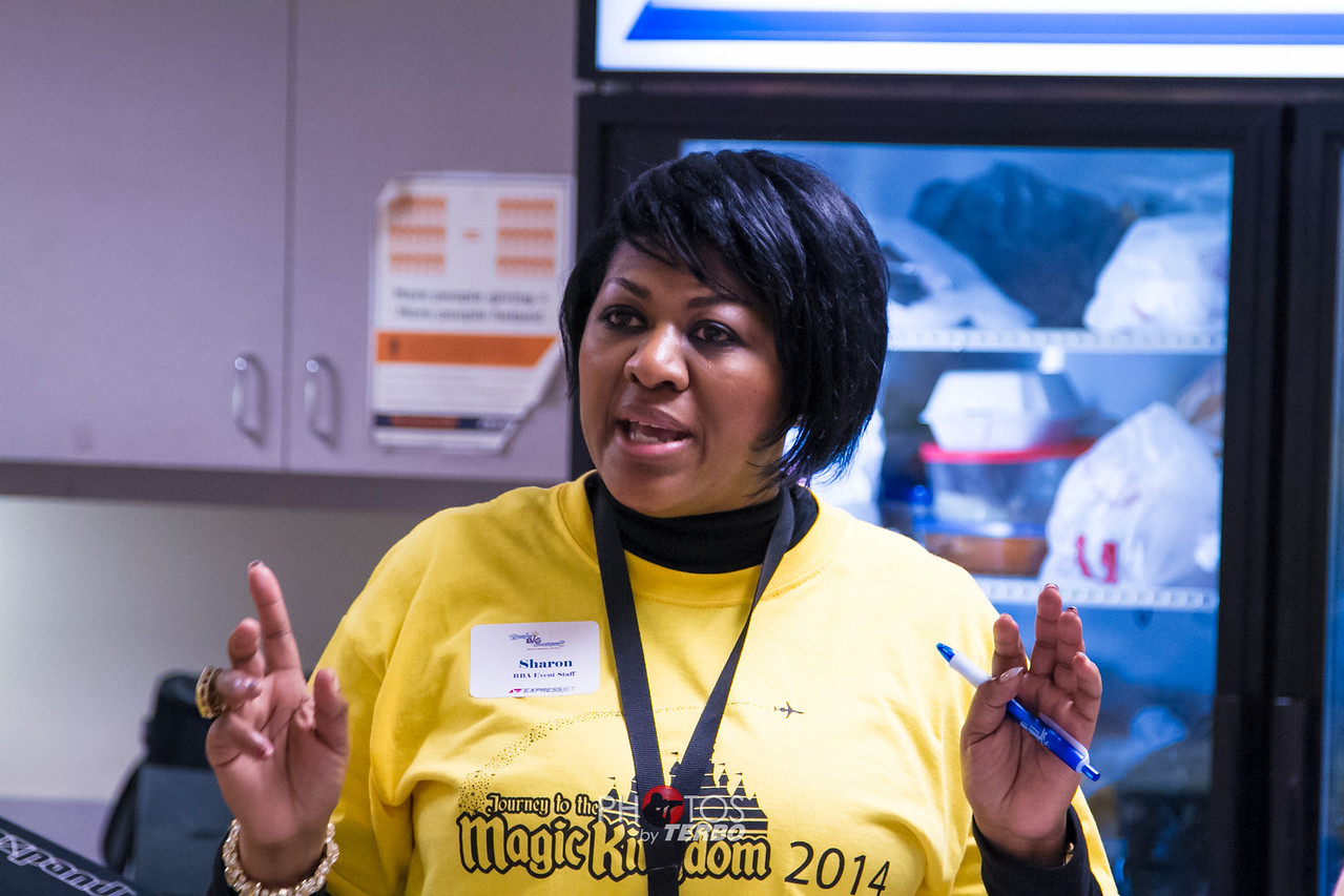 Coordinator Sharon Robinson