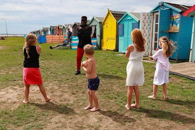 12 AUG 2018 - Isaac James (Limitless Dance Workshop) - Beside the Seaside Festival Dovercourt Bay - Photo Copyright © Maria Fowler 2018
