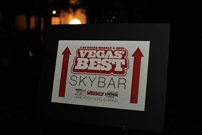 """Las Vegas Weekly Best of Vegas 2010 photo gallery held at Skybar at Hard Rock Casino in Las Vegas Nevada. High quality photographs free download for personal use only with photo credit of """"Mark Bowers, Courtesy of www.ReallyVegas.com"""""""