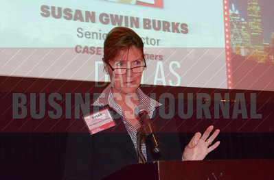 23rd annual Best Real Estate Deals presenter, Susan Gwin Burks, Senior Director at CASE Commercial Real Estate Partners.