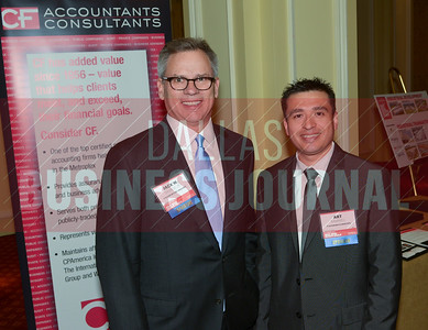 Jack Savage Jr. and Art Ramirez  with Best Real Estate Deals sponsorCF Accountants & Consultants,