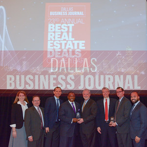 Toyota North America celebrate a pair of Dallas Business Journal's Best Real Estate Awards including Deal of the Year and Best HQ Campus Deal.