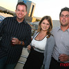 The winners party on the rooftop patio at 360 Residences in downtown San Jose.