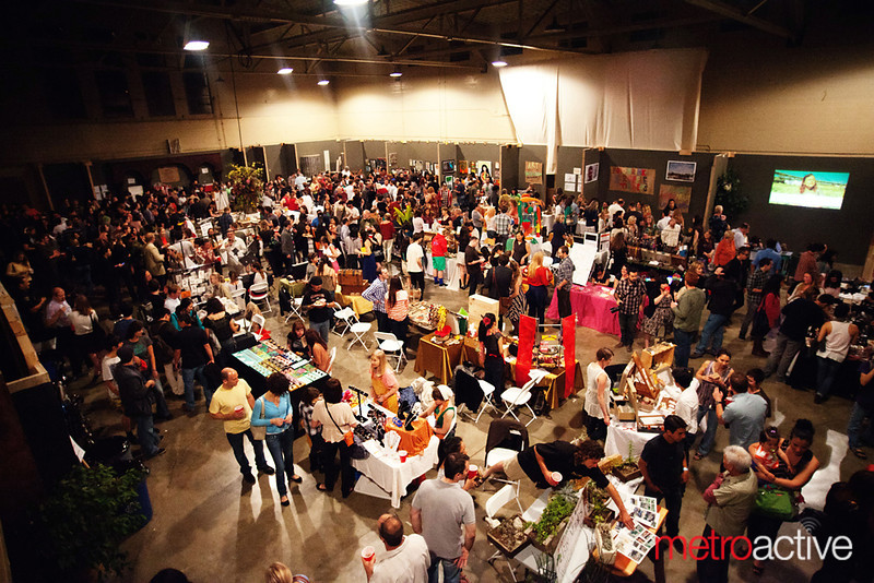 """Avant Garden: Veggielution's Food and Art Fundraiser<br /> <br /> Photo by Jessica Shirley-Donnelly, JRSD Photography 