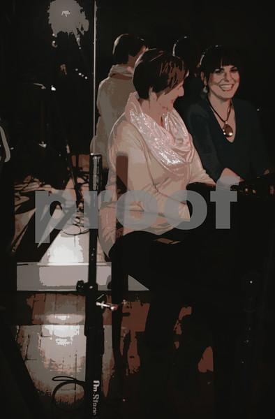 Beth with her Mom Second Album fundraiser copyrt 2014 m burgess