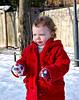 17_Examining the snow