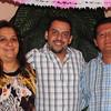 Julio's sister Lilia, cousin Gerardo, and brother-in-law Hugo