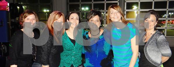 Amy Crawford, Rochelle Green, MaryKay Danrel, Natalie Newell, Kara Brunner, and Anne Michehl