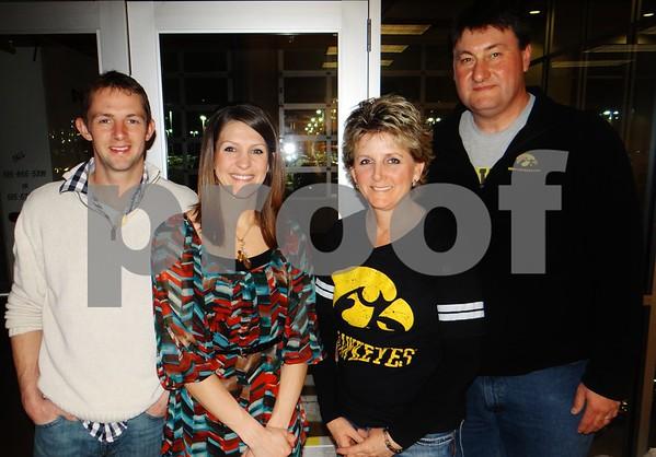 Adam Miller, Carissa Miller, Julie Kruger, and Dean Kruger.