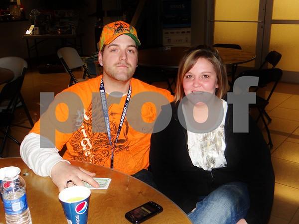 Justin Fuller and Ashley Christensen.