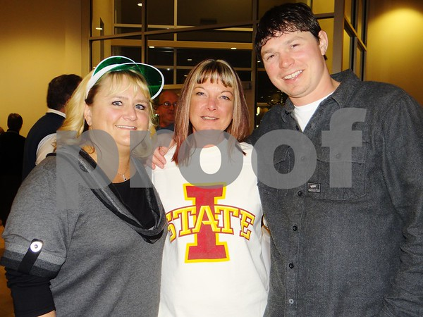Lisa Knigge, Sheilah Lizer, and Justin Harvey