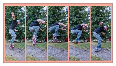 Aaron jumping sequence