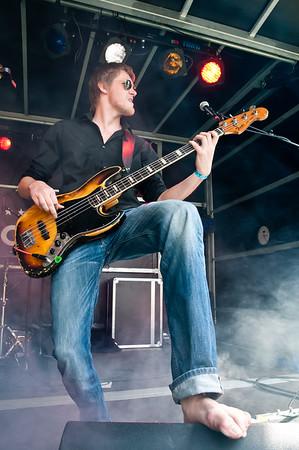 """NIK_3225 - Bonne van der Wall van de """"Tommy Ebben band"""""""