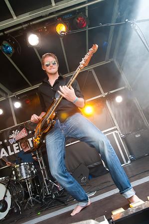 """NIK_3159 - Bonne van der Wall van de """"Tommy Ebben band"""""""