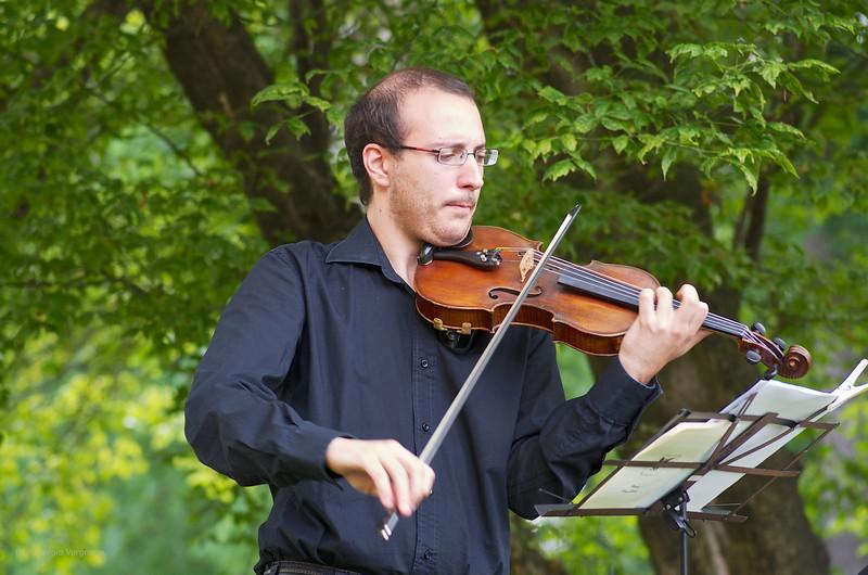 Matteo Chialva (violino) - parco de il Torrione